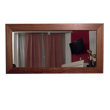 Espejos horizontales for Espejos rectangulares horizontales